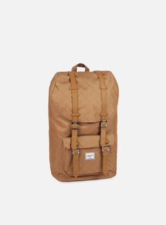 Herschel - Little America Quilted Backpack, Caramel