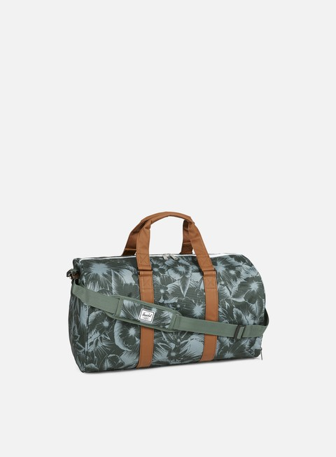 accessori herschel novel classic bag jungle floral
