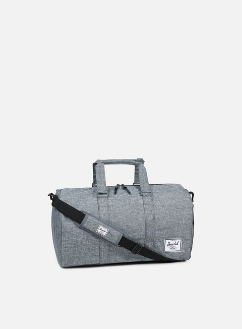 accessori herschel novel classic bag raven crosshatch