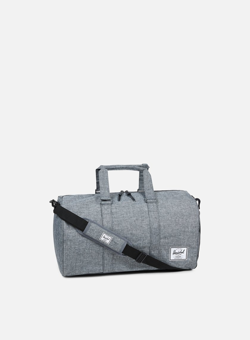 Herschel - Novel Classic Bag, Raven Crosshatch