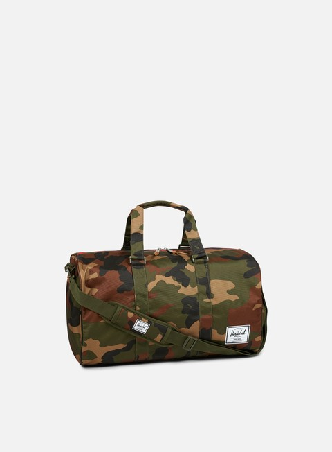 accessori herschel novel classic bag woodland camo