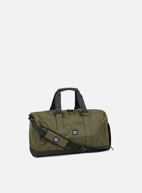 accessori herschel novel duffle aspect forest night black
