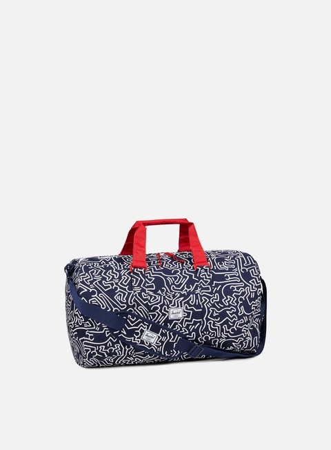 accessori herschel novel keith haring duffle peacot