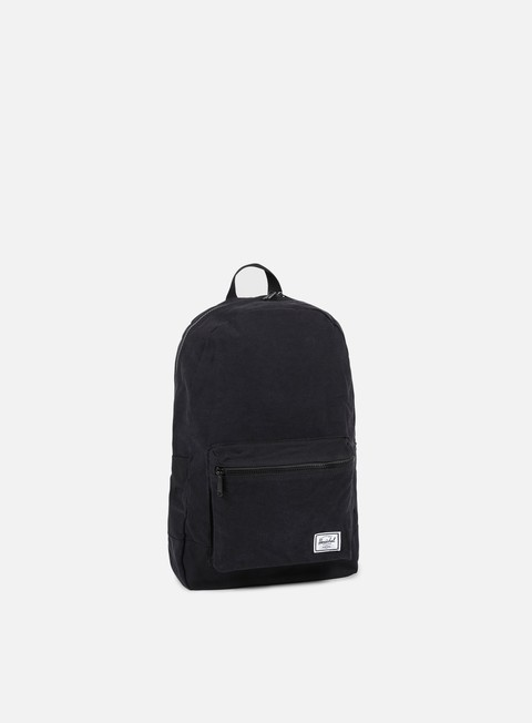 accessori herschel packable cotton daypack backpack black