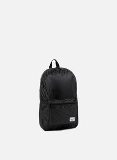 Herschel - Packable Daypack Backpack, Black