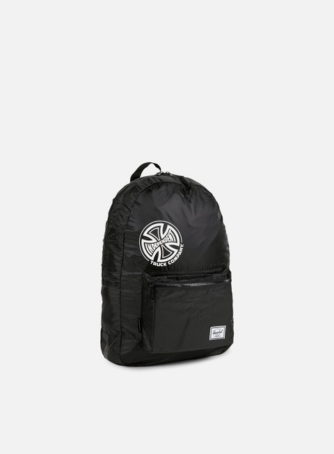 accessori herschel packable independent daypack backpack black