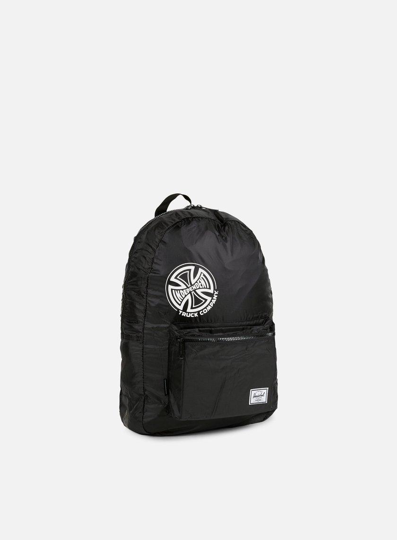 Herschel - Packable Independent Daypack Backpack, Black