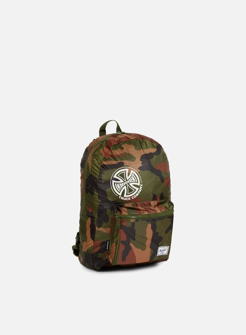 accessori herschel packable independent daypack backpack woodland camo
