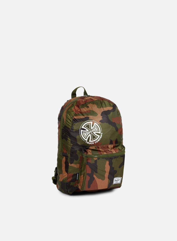 Herschel - Packable Independent Daypack Backpack, Woodland Camo