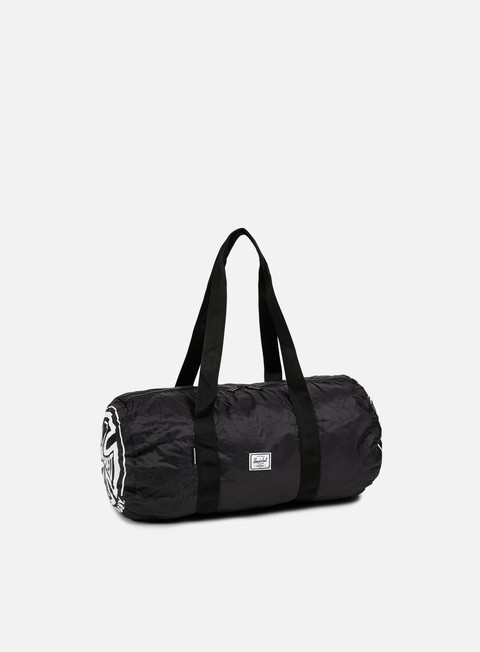 accessori herschel packable independent duffle black