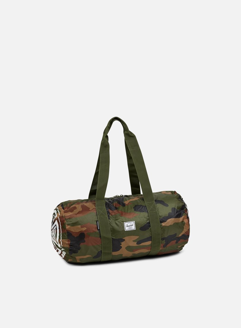 Herschel - Packable Independent Duffle, Woodland Camo
