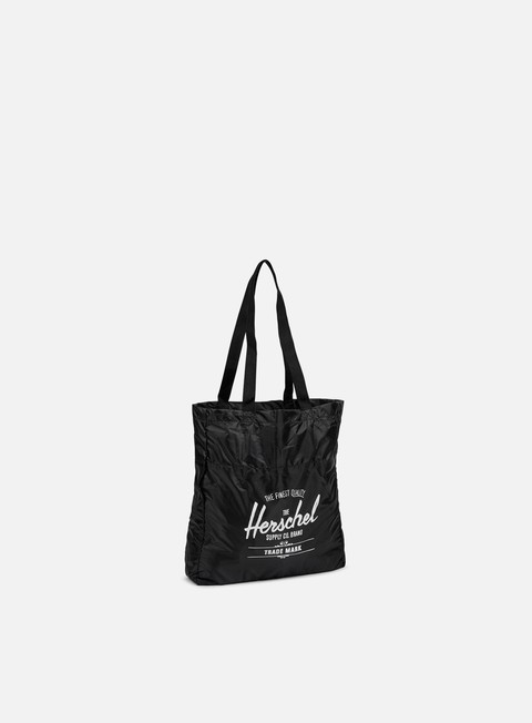 accessori herschel packable travel tote bag black