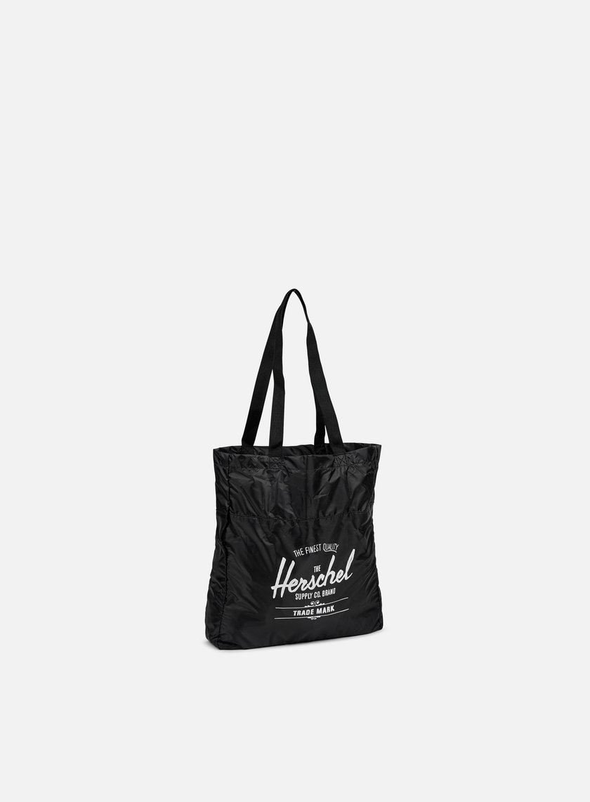 Herschel - Packable Travel Tote Bag, Black