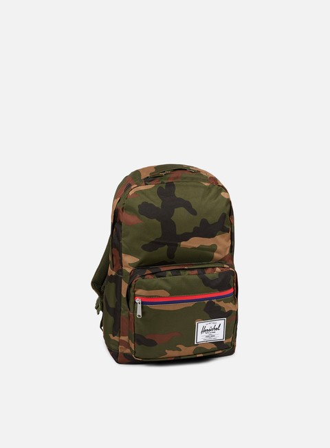 accessori herschel pop quiz classic backpack woodland camo
