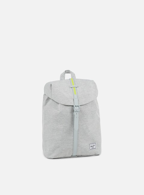 accessori herschel post mid volume classic backpack light grey