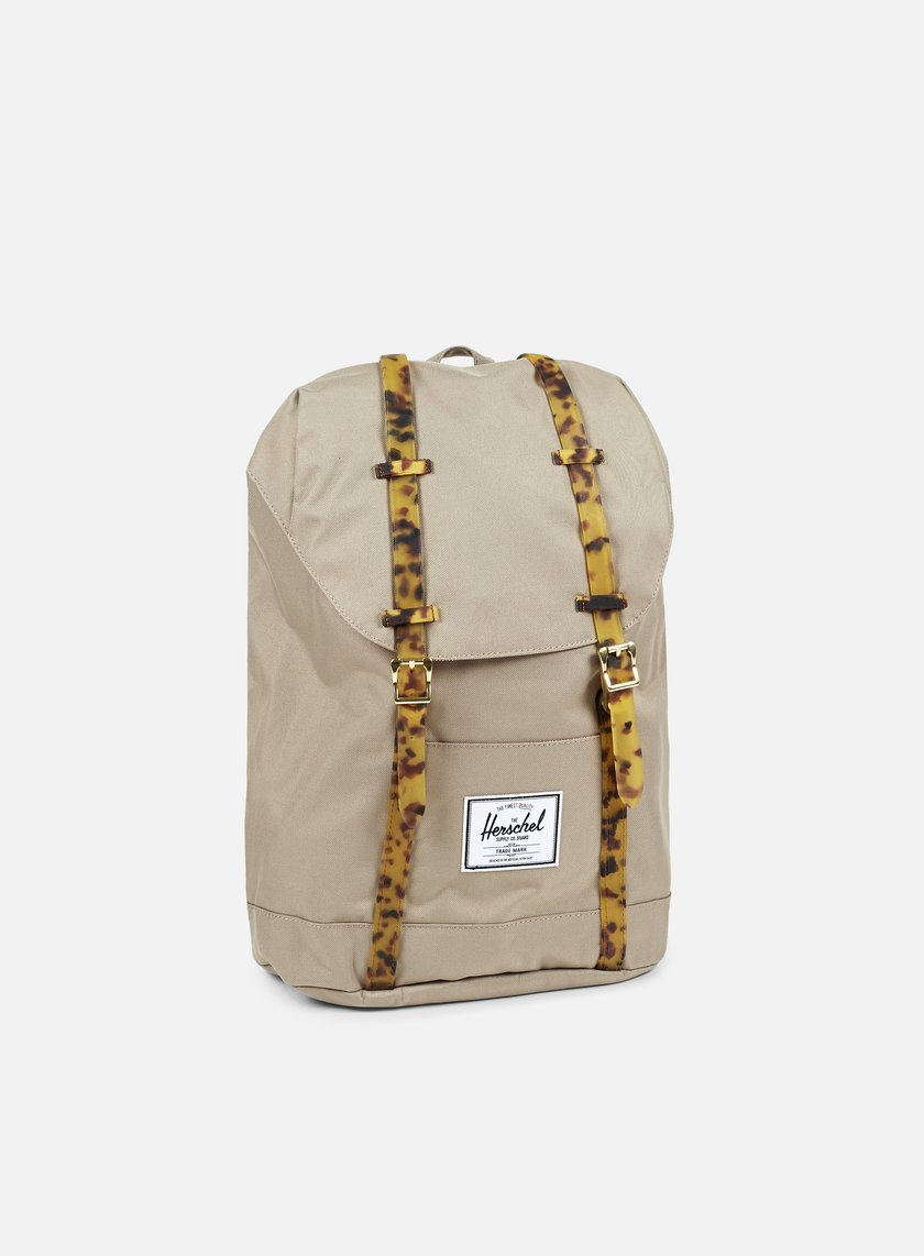 Herschel - Retreat Backpack Tortoise, Brindle/Tortoise