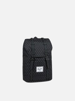 Herschel - Retreat Classic Backpack, Black Gridlock