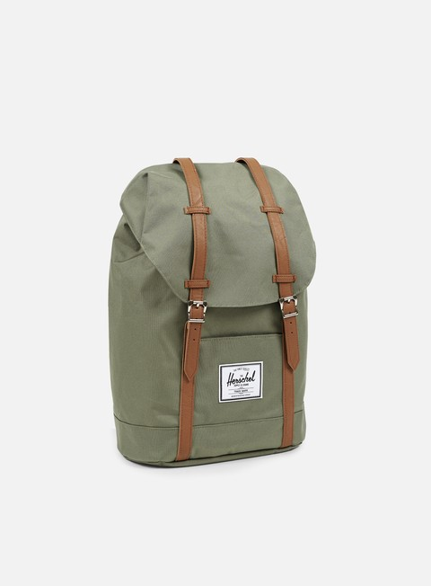accessori herschel retreat classic backpack deep lichen green