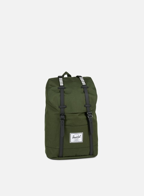 accessori herschel retreat classic backpack forest night black