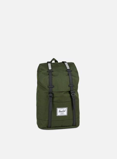 accessori herschel retreat classic backpack forest night black