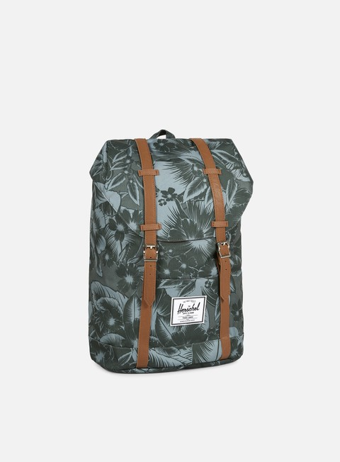 accessori herschel retreat classic backpack jungle floral