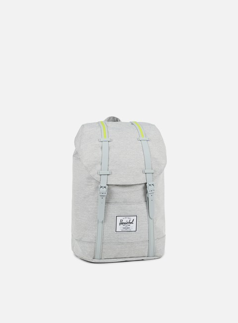 accessori herschel retreat classic backpack light grey