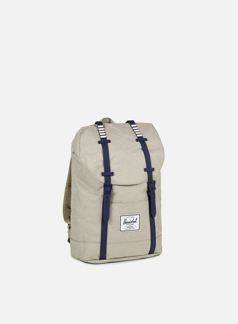 accessori herschel retreat classic backpack light khaki