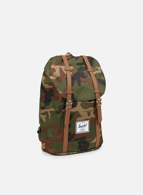 accessori herschel retreat classic backpack woodland camo