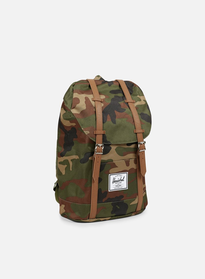 Herschel - Retreat Classic Backpack, Woodland Camo