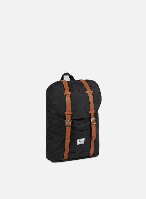 accessori herschel retreat mid volume classic backpack black