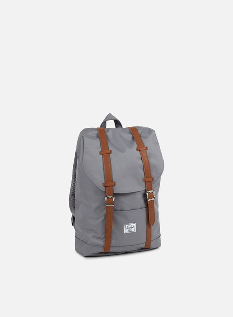 accessori herschel retreat mid volume classic backpack grey