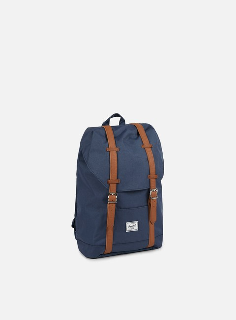 accessori herschel retreat mid volume classic backpack navy