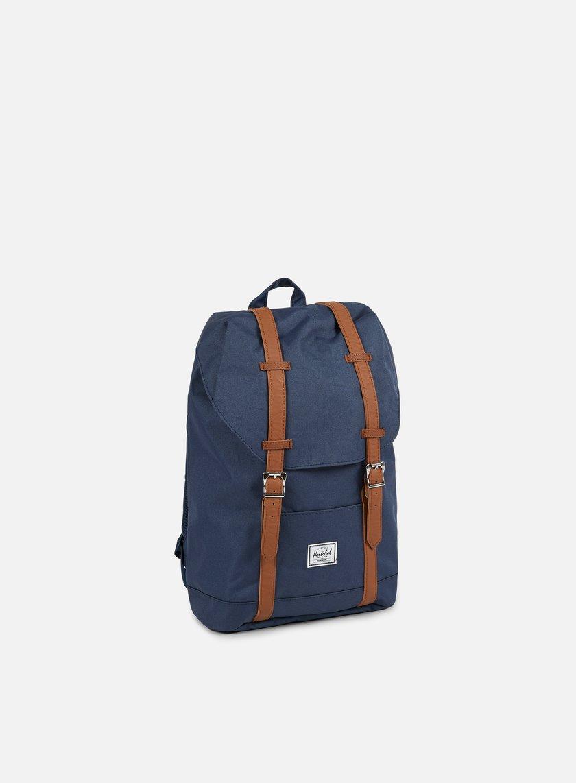 Herschel - Retreat Mid Volume Classic Backpack, Navy