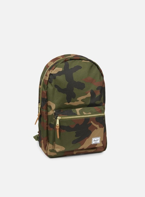 accessori herschel settlement backpack classic woodland camo