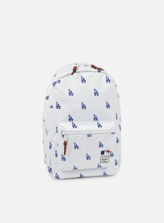 Herschel - Settlement Backpack MLB, White/Blue Dodgers 1