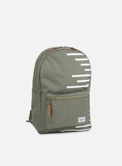 Herschel - Settlement Offset Backpack, Deep Lichen Green