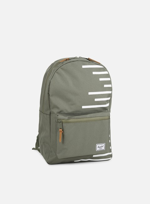 accessori herschel settlement offset backpack deep lichen green