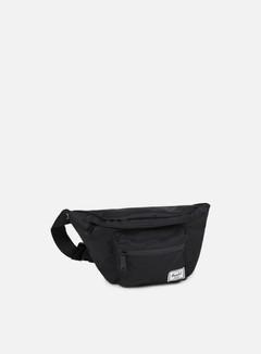 Herschel - Seventeen Classic Hip Sack Bag, Black/Black