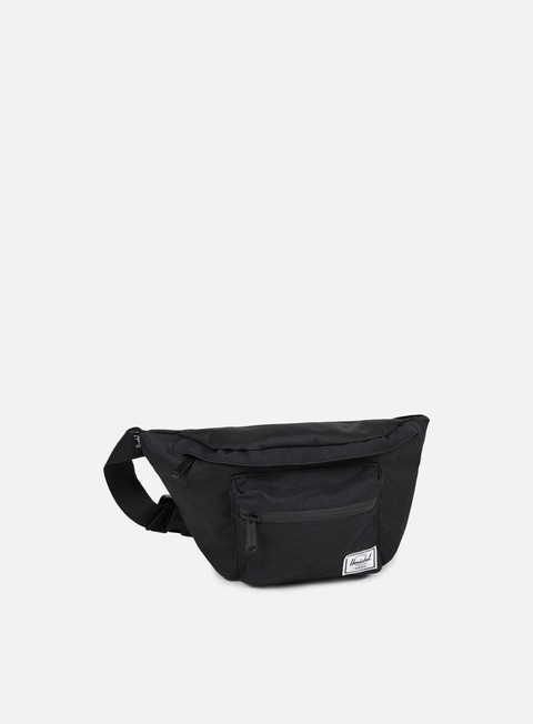 accessori herschel seventeen classic hip sack bag black black
