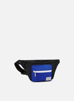 Herschel - Seventeen Classic Hip Sack Bag, Black/Surf The Web