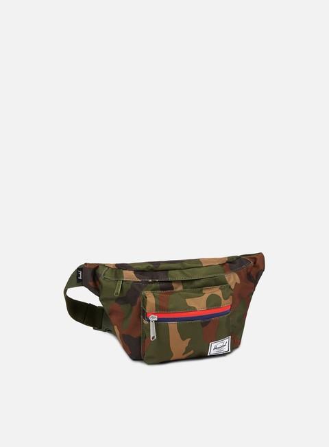 accessori herschel seventeen classic hip sack bag woodland camo