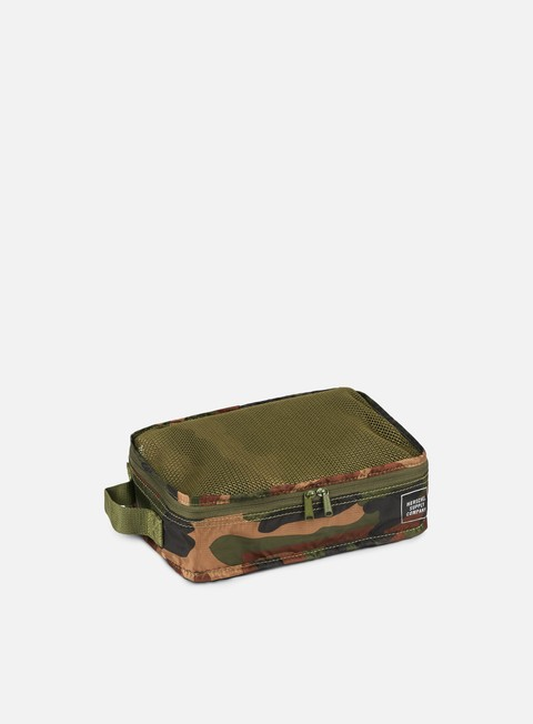 accessori herschel standard issue travel system woodland camo