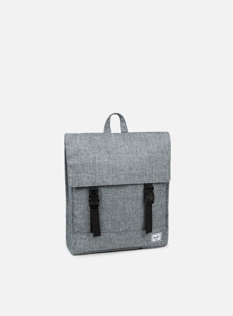 accessori herschel survey classic backpack raven crosshatch