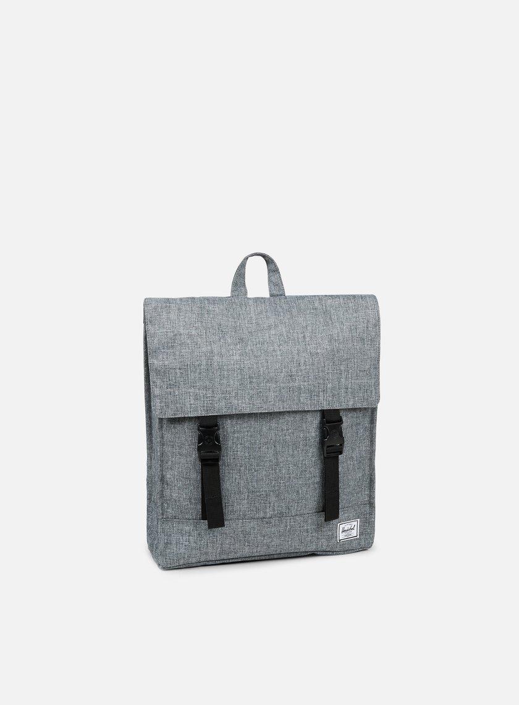 Herschel - Survey Classic Backpack, Raven Crosshatch