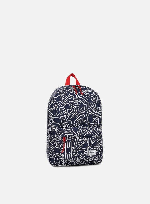 accessori herschel winlaw keith haring backpack peacot