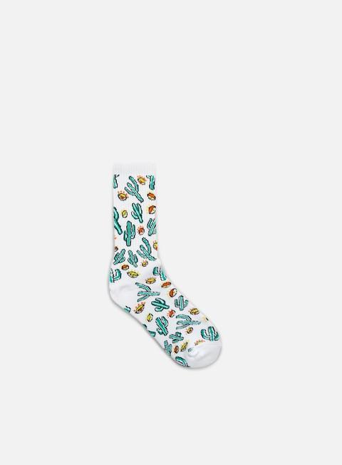 Socks Huf Anne Freeman Saguaros Have Eyes Crew Socks