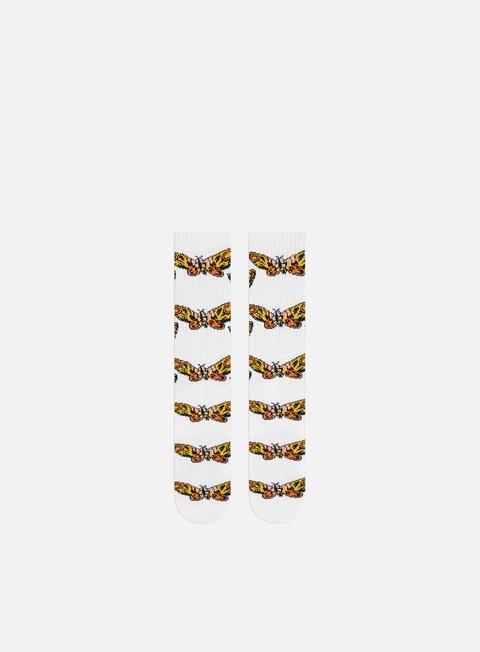 Huf Godzilla Mothra Crew Socks