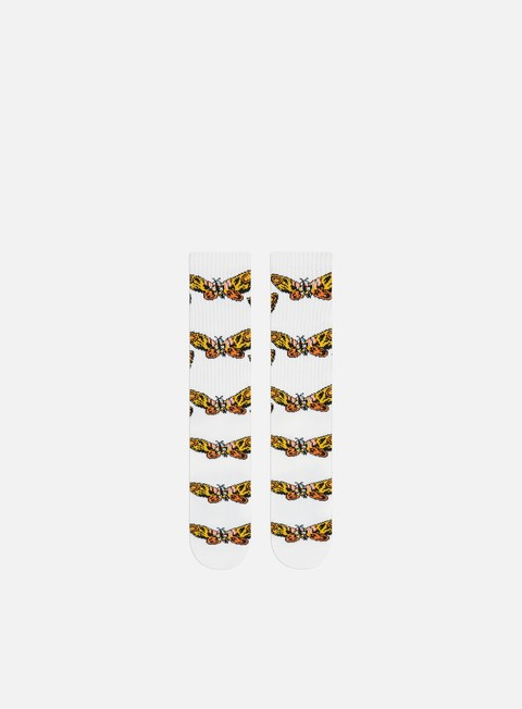 Outlet e Saldi Calze Huf Godzilla Mothra Crew Socks