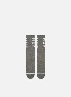 Huf Melange OG Logo Crew Socks
