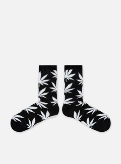 Huf - Plantlife Crew Socks, Black/White 2